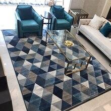Простые мягкие ковры из полиэстера в скандинавском стиле для гостиной, спальни, ковры для дома, ковер в нежной области, коврик для двери, модный ковер