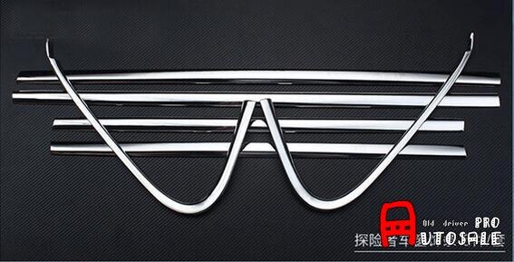Steel Bottom Lower Window Frame Sill Trim Cover 6pcs for Ford Explorer 2011-2018