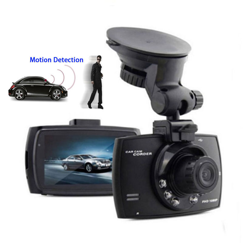 Preto Box Car Dvr G30 LCD 2.4 ''' 1080P Full hd Night Vision G-Sensor Dash cam Originais Camera Noturna Trace Cam 32G Car DVRS