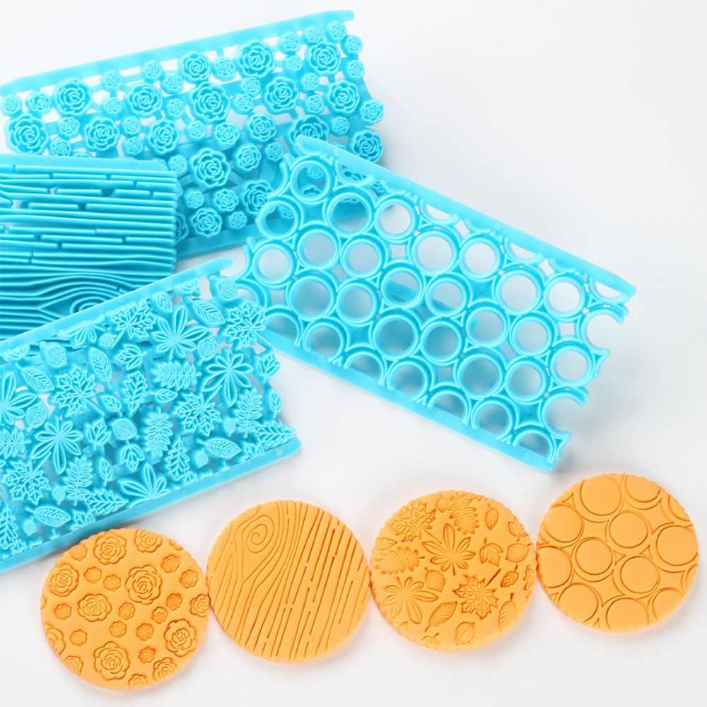 DIY Decorating Tools Sugarcraft Baking Fondant Cake Embosser Biscuit Cookie Mold