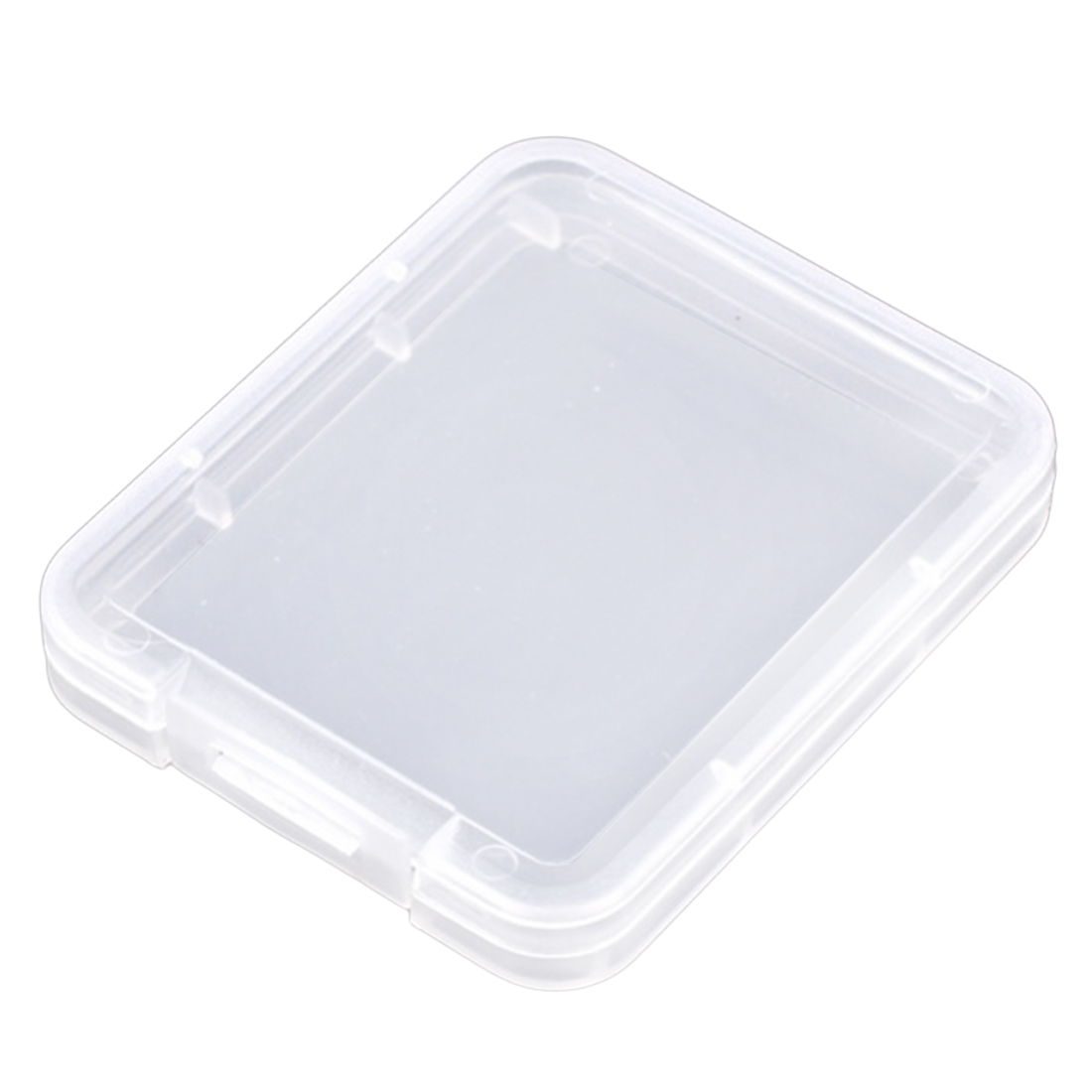 Image 4 - centechia Transparent 10 Pcs CF card box memory card case Compact Flash Card Case Transparent Eco friendsly Plastic Case-in Memory Card Cases from Computer & Office