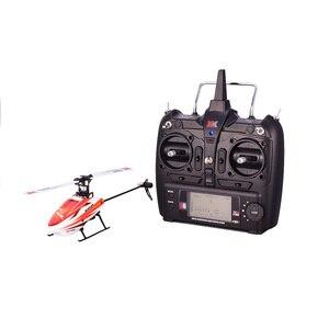 Image 4 - Wltoys XK K110 6CH 3D 6G di Controllo Remoto Sistema di Motore Brushless RC Elicottero giocattolo Con Trasmettitore Compatibile Con FUTABA s FHSS