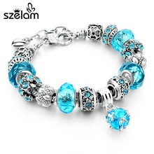 Bracelet beads 2017 European Crystal Charm