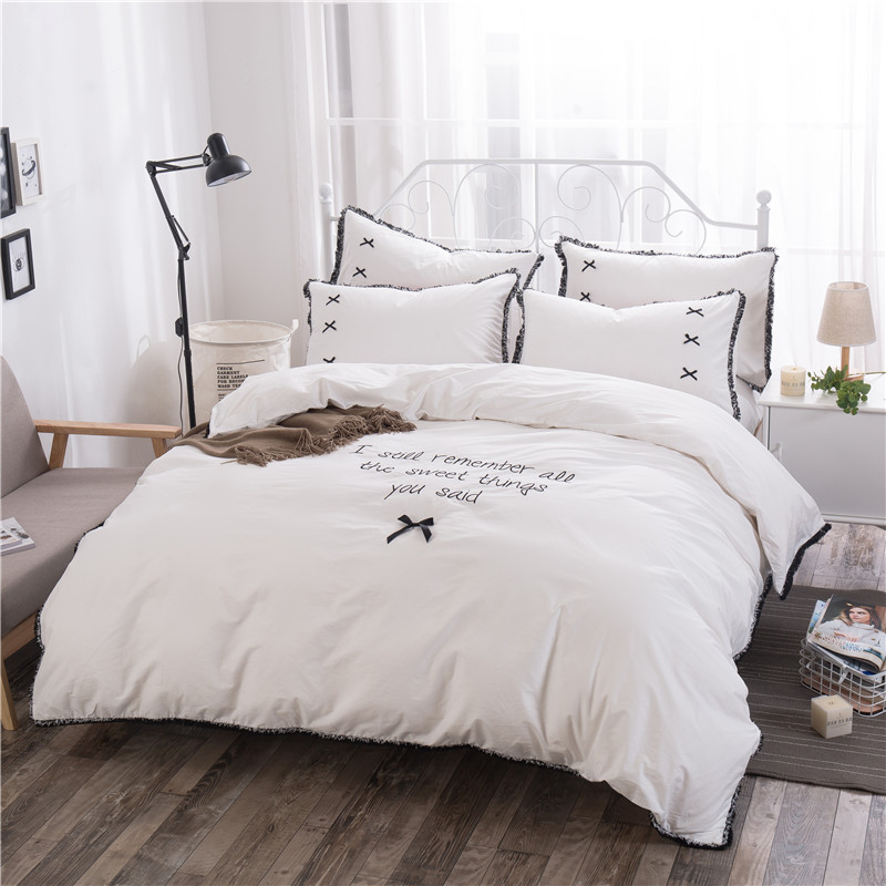 100% cotton Duvet Cover Set Korean Bedding Set Bedsheet Pillowcase 4/6pcs Duvet Cover Su Bian Bed Quilt Bedlinen Bedclothes100% cotton Duvet Cover Set Korean Bedding Set Bedsheet Pillowcase 4/6pcs Duvet Cover Su Bian Bed Quilt Bedlinen Bedclothes