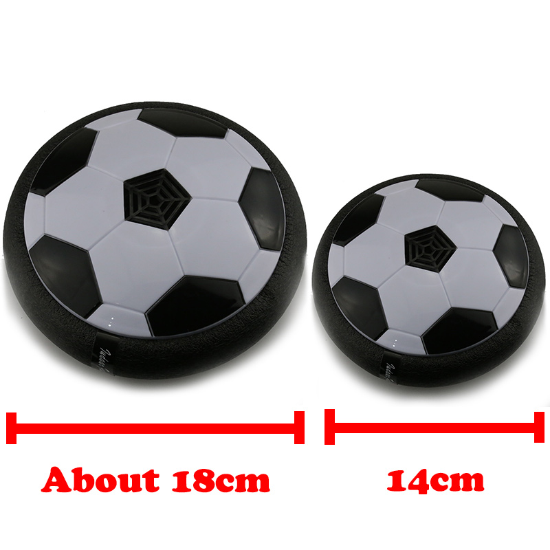 Купить с кэшбэком HOT Funny LED Light Flashing Arrival Air Power Soccer Ball Disc Indoor Football Toy In box  Multi-surface  Gliding Toy