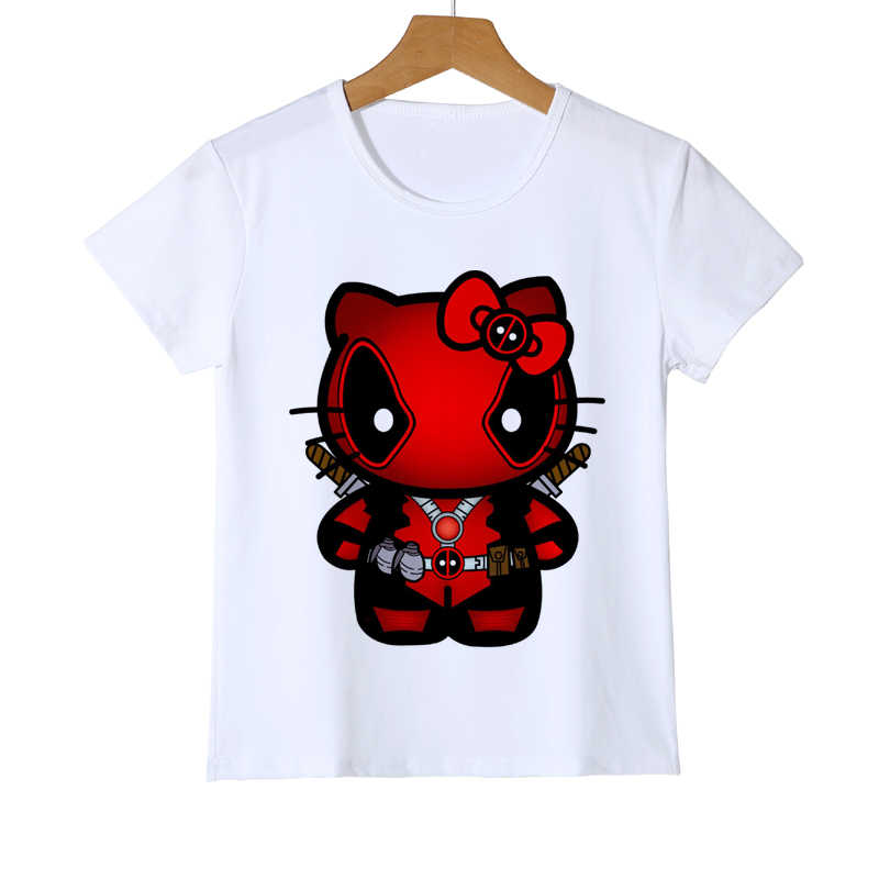 8fb6a1f7 ... 3D Cartoon Fashion Pokemon Design tops Shirt Newest Deadpool Pikachu  Kid T shirt Printed Boy Girl ...