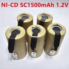 SORAVESS 4/8 шт. SC1500mAh Ni-Cd батарея В  батарейки 1,2 в Ni Cd 3 аккумуляторные батареи с сварочными вкладками точки для зарядки сверла инструменты батарейки аккумуляторы
