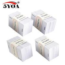 500pcs 1000 pieces 5YOA 1.8mm EM4100 Access Control Card 125khz Keyfob RFID Tag Tags TK4100 Token Ring Proximity Chip