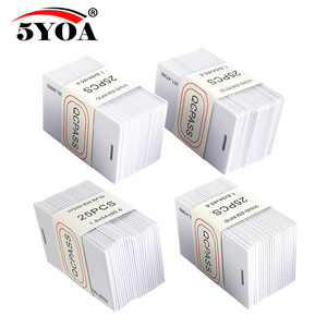 Image 1 - 500pcs 1000 pieces 5YOA 1.8mm EM4100 Access Control Card 125khz Keyfob RFID Tag Tags TK4100 Token Ring Proximity Chip