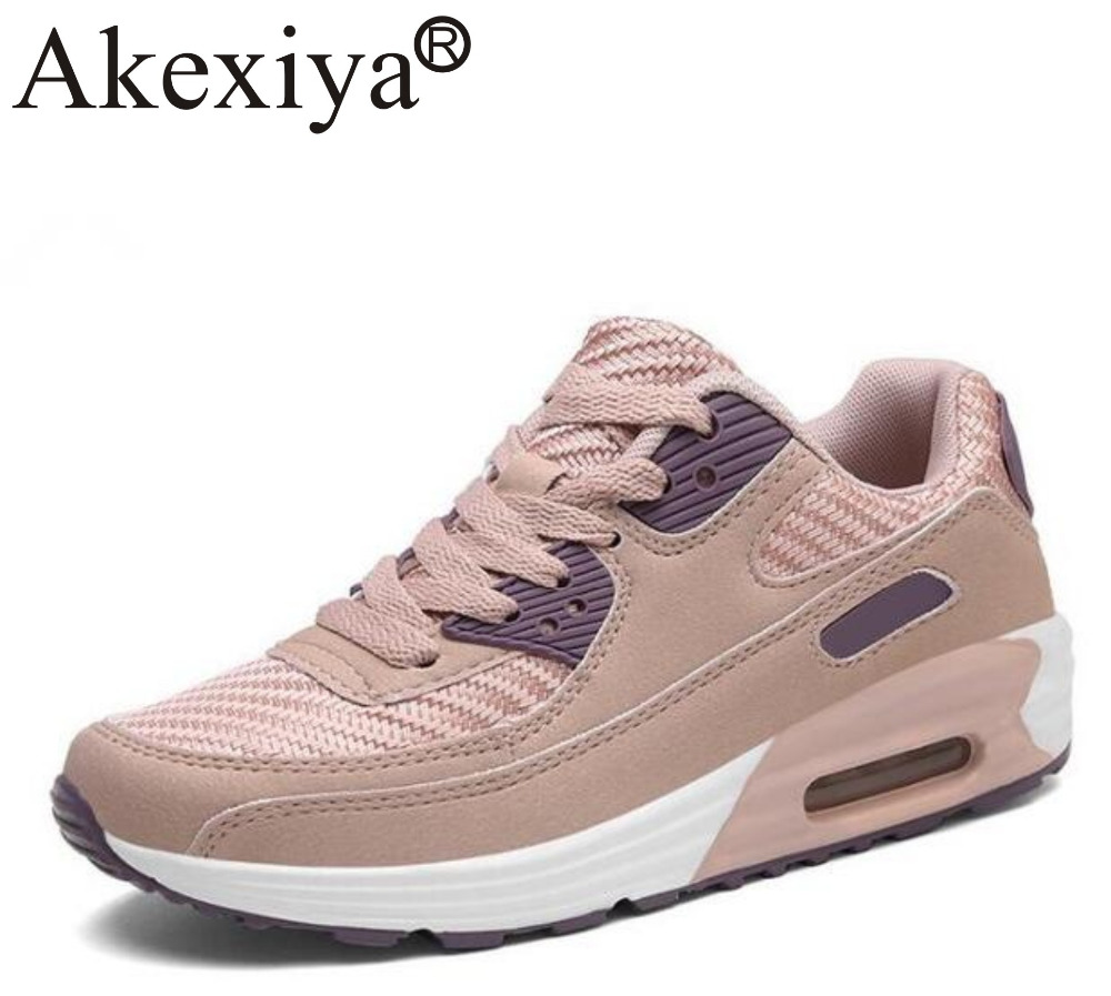 Sneakers Women Running Shoes For Women Air Mesh Breathable Comfortable Knitting Sports Shoes Woman Zapatillas Hombre Deportiva