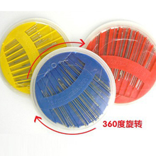 N oneroom 1pc Disc Needle Knitting Box Case Needle Combinati
