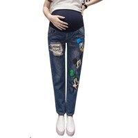 Ciążowe Spodnie Jeansowe Dżinsy Dla Kobiet W Ciąży Ciąża Jeans Wysokiej Talii Spodnie Ciążowe Ubrania Ciążowe Ubrania B0184