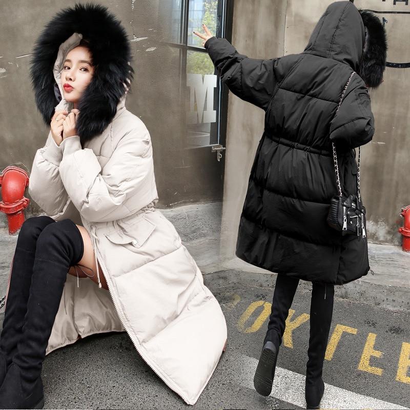 Mauve Parka Ouatée Bisque Taille Haute Maxi Femmes Long Noir Outwear Manteau Color Épais Fourrure Rembourré Color Réglable Picture Capuchon picture Pâle De 2018 IwOrwxqTE