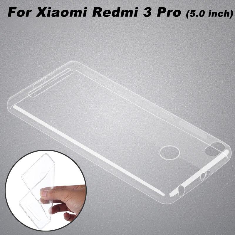 new concept 41956 b498b US $1.49 25% OFF|Xiaomi Redmi 3 Pro Case Cover Ultrathin Transparent TPU  Soft Cover Phone Case For Xiaomi Redmi 3 Pro 3s 3X Back Cover (5.0 inch)-in  ...
