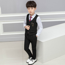 2019 winter  children's wear the new boy's suit suit children  boy clothes  Fashion  kids clothes boys  Cotton boy sets ALI 307 цена в Москве и Питере