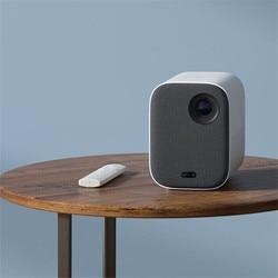 2019 Xiaomi Mijia mini projektor DLP 1080P Full HD AI Voice pilot zdalnego sterowania 500ANSI wideo 4K 3D WIFI projektor przenośny projektor 2