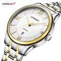 LONGBO clássico mens relógios top marca de luxo relógio de quartzo homens de marcação requintado vestido de pulso moda relógios relojes mujer 2016