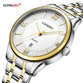 LONGBO classical mens watches top brand luxury quartz watch men exquisite dial dress wrist watches fashion relojes mujer 2016