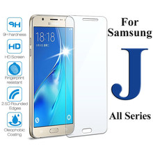 Protective glass on for samsung galaxy j1 j3 j5 j7 2016 j2 pirme pro 2017 screen protector sumsung samsun galax j 1 2 3 5 7 glas(China)