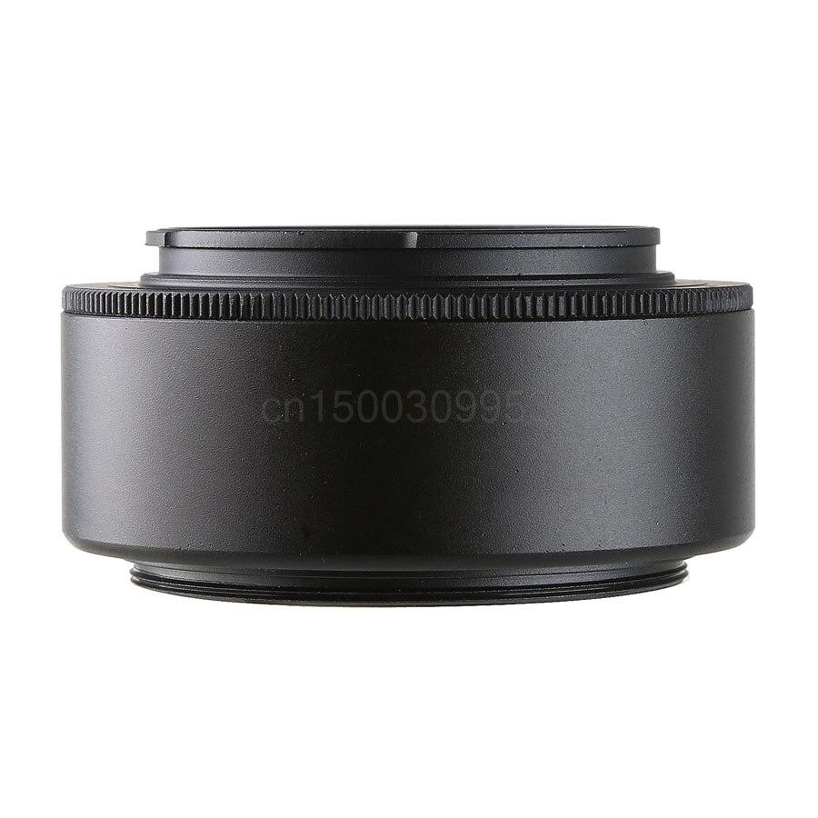 Objetivos para cámaras adaptador tubo de extensión macro NEX a 49/52/55/58/62/67/ 72mm para Sony a6300 a6500 a5100 a7s A7 II a7r II nex5