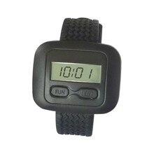 5 шт. беспроводные часы пейджеры, беспроводной звонок системы, кафе вызова sistem, ресторан/Больница медсестры вызова часы