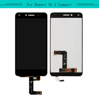 3pcs For Huawei Y6 II Compact Y6 2 Compact LYO-L01/L21 full LCD Display Assembly with Touch Screen Glass Digitizer Complete
