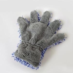 Image 5 - 30x27.5cm High Density Microfiber Car Wash Cleaner Mitt Maximum Absorbancy Glove Premium Car Cleaning Glove Car Care Detailing