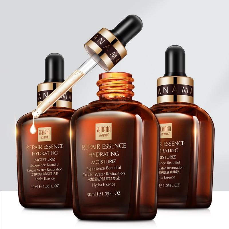 SENANA Moisture Repairing Muscle Essence Skin Care Hyaluronic Acid Serum Oligopeptide 30ml Beauty Anti-Aging Facial Essence