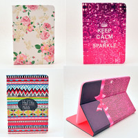 Case Cover For Samsung Galaxy Tab 2 10 1 Inch P5100 Case Flower Tablet Leather Design