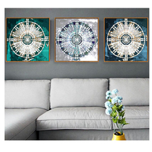 Triptych stickers 5d diy diamond paintingmandalaEmbroidery Cross Stitch Rhinestones mosaic pictures,decoration gift Z1248