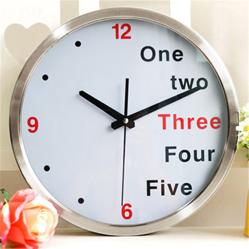 Large wall clock modern home design decor horloge murale - Plaque decorative murale ...