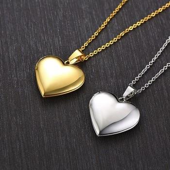 Heart Locket Women Pendants Necklaces 4