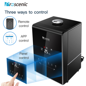 Image 5 - Proscenic 807C Ultrasonic Humidifier 5.5L Vaporizer Warm and Cool Mist for Large Room App and Alexa Control, LED Air Humidifier