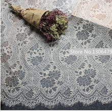 3M/piece High Hanmian Black Lace Fabric Width 150CM Home Furnishing Decorations DIY Manual Fashion Accessories,RS1344