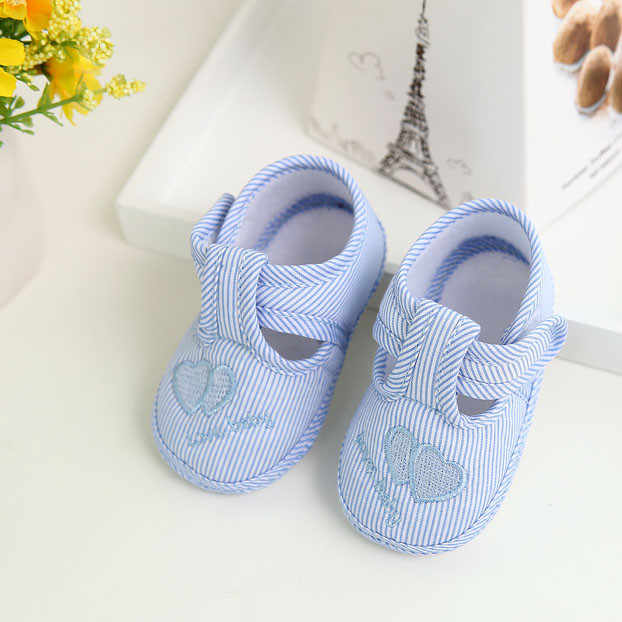 Newborn Girl Boy Soft Sole Crib Toddler Shoes Canvas Sneaker First Walkers Soft Infant Crib Shoes  for Newborns baby shoes