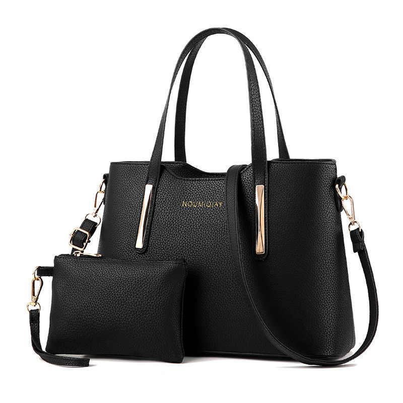 Wanita Tas Wanita Kulit Tas Tangan Tas Bahu Wanita Kapasitas Besar Totes Komposit Tas Fashion Handbags Logam Lengkeng Pola