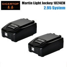 Freeshipping 2 adet/grup 1024 Martin ışık jokey 2 Martin profesyonel sahne Windows tabanlı denetleyici USB DMX arayüz kutusu
