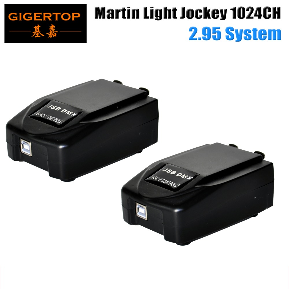 Freeshipping 2pcs/lot 1024 Martin Light Jockey 2 Martin Professional Stage Windows-based Controller USB-to-DMX Interface Box