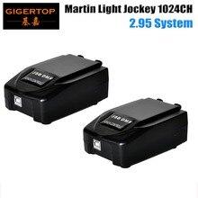 Livraison gratuite 2 pièces/lot 1024 Martin lumière jockey 2 Martin professionnel scène Windows basé contrôleur USB to DMX boîte dinterface