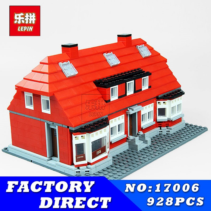LEPIN 17006 928Pcs Ole Lirk's House Kits Education Building Blocks Bricks Model Children Funny Toys for Children Gifts wange mechanical application of the crown gear model building blocks for children the pulley scientific learning education toys