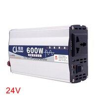 600W 1000W 12V 24V To 220V Power Inverter Converter Surge Protection Adapter Pure Sine Wave Car LED Display Home Use Supply