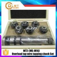 Novo conjunto M5 M16 do mandril de batida do fio da torneira da sobrecarga com a haste da torneira do atarraxamento mt2|Suporte p/ ferramenta|   -