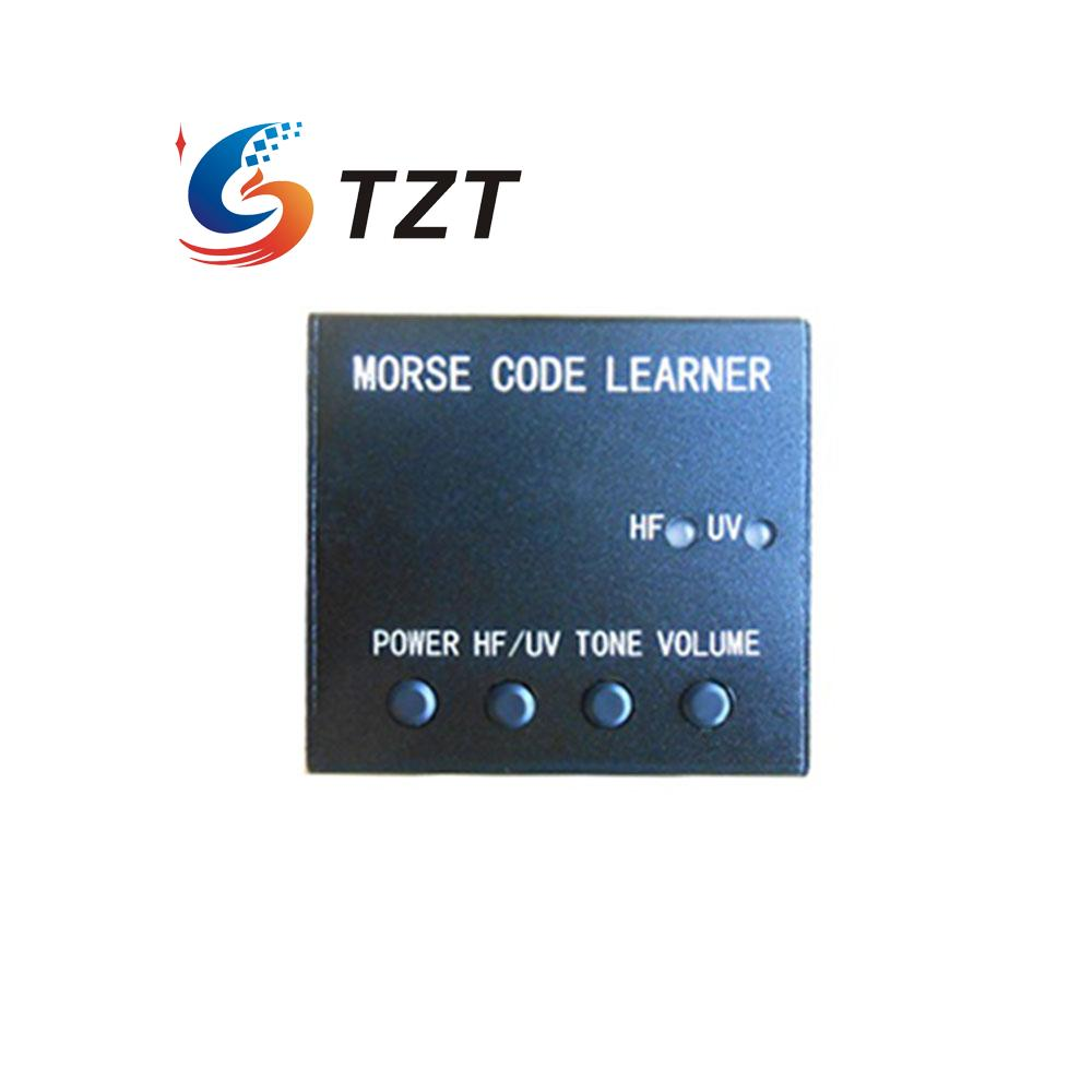 Morse Code Learner Trainer Shortwave Radio Oscillator Telegraph Radio Station + Power Supply + Adapter + K4 key ...