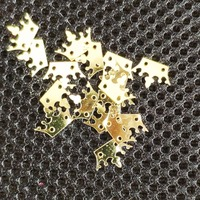 Wholesale 7x18mm Crown sequins for sewing and craft supplies,500g/color/bag