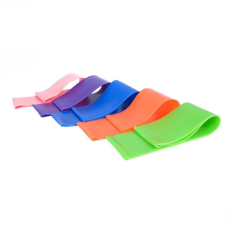 Zespoły oporu Opaski elastyczne dla Fitness pętli joga Pilates do ćwiczeń w domu sprzęt do ćwiczeń trening treningowy Pull Up guma pasek