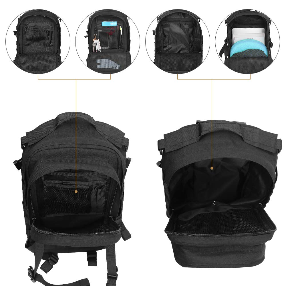 Outdoor Tactical Backpack Military (5)