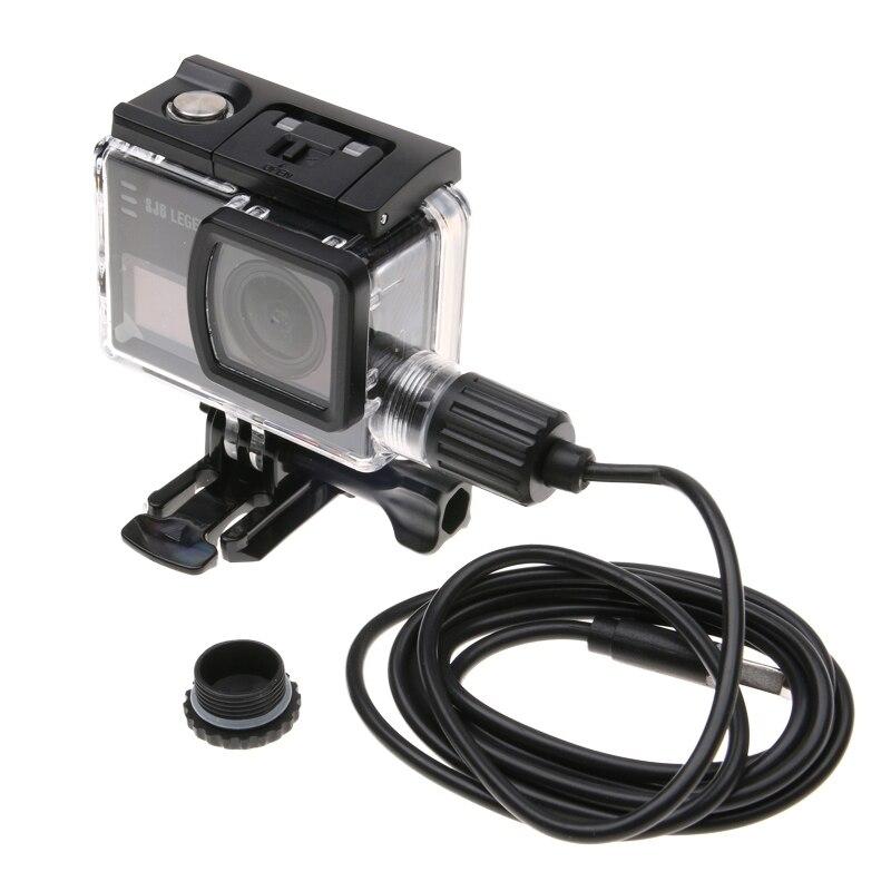 PULUZ For SJ6 Legend Case Waterproof Housing Protective Case With Car Charger Cable Buckle Basic Mount For SJCAM SJ6 Legend Case