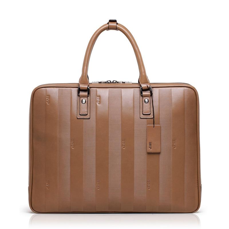 BVP - High-end Business Briefcase Men Top Genuine Leather Vintage Laptop Suitcase Men15