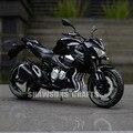 1:12 diecast metal modelo toys kawasaki z800 motorcycle sport bike replica colección