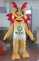 Free shipping bubble head mascot costume of fan and the helmet/brand new dragon mascot costume adult size
